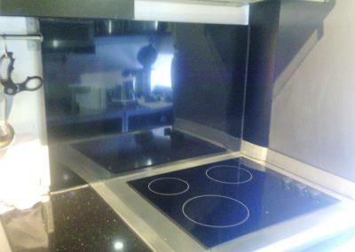 Photonenheizung als Küchenspritzschutz