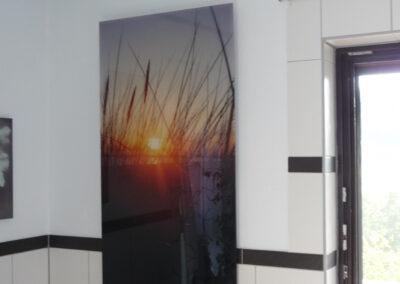 Photonenheizung als Glasbildheizung